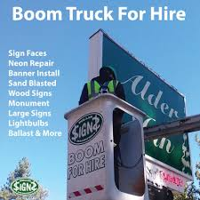 Boom Truck For Hire! - Yelp