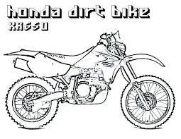 Dirt Bike Coloring Pages Printable Helmet Page