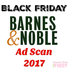 Barnes & Noble Black Friday Ad Scan 2017