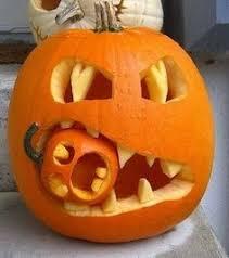 Puking Pumpkin Pattern by Wicked Carving Art Random Pinterest Pumpkins Halloween