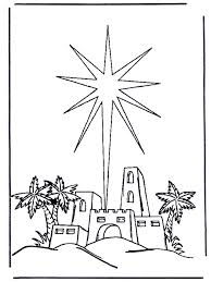 Christmas Coloring Pages The Nativity Story 6