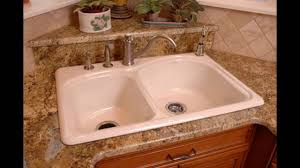 Ferguson Stainless Steel Kitchen Sinks by Enameled Cast Iron Kitchen Sinks Youtube