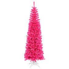 Pink Pencil Christmas Tree