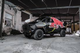 100 Redbull Truck Red Bull Reveals Armored Event Vehicle With Stealthy Look Land