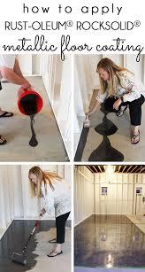 Behr Garage Floor Coating Vs Rustoleum by Best 25 Epoxy Garage Floor Coating Ideas On Pinterest Garage
