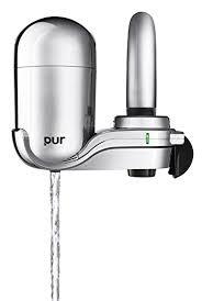 amazon com pur advanced faucet water filter chrome fm 3700b home