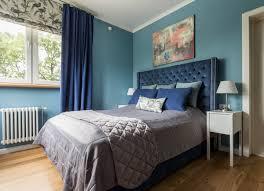 dunkelblau hellblau mit grünem unterton schlafzimmer