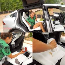 100 Semi Truck Seats Tesla Model Xs Ultra White Put To The Test Video