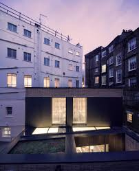 100 Belsize Architects Pivoting Louvres Conceal Windows Of Mews House By
