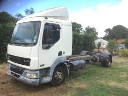 100 Pickup Truck Sleeper Cab Leyland Daf Lf45 Chassissleeper Cab Spares Or Repair In Maidstone