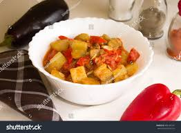 provencal cuisine ratatouille provencal cuisine stock photo 486187741
