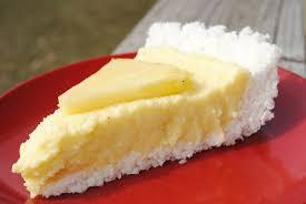 Raw Pina Colada Pie