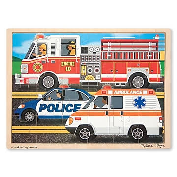 Melissa & Doug to The Rescue Jigsaw Puzzle