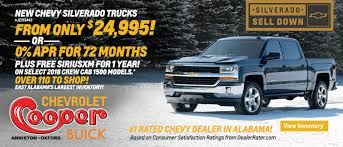 100 Trucks For Sale In Birmingham Al Cooper Chevrolet Buick C Chevrolet And Buick Dealership In