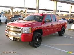 2007 Chevrolet Silverado 1500 LT Z71 Extended Cab 4x4 In Victory Red ...