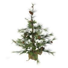 VCo 3 Verde Pine Rustic Artificial Christmas Tree