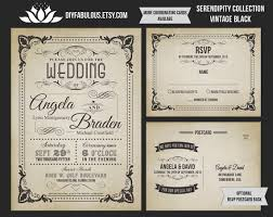 Rustic Vintage Wedding Invitations As An Additional Inspiration For A Winsome Invitation Design With Layout 13