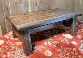 DIY Rustic Barn Wood Coffee Table W Pioneer Patina