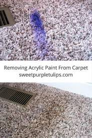 How Remove Paint From Carpet by How To Remove Dried Acrylic Paint From Carpet Blog Posts