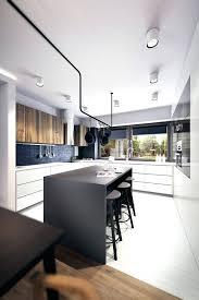 cuisine et blanche deco cuisine noir decoration cuisine mu00e9langez le noir le blanc