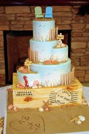 2015 Elegant Beach Wedding Cakes