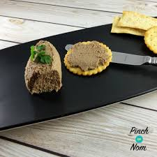 syn free chicken liver and bacon pate slimming world pinch of nom