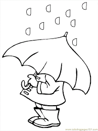 Free Printable Weather Coloring Pages