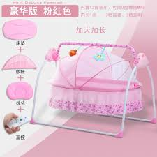Electric Baby Portable Bassinet Cradle Auto Rocking Sleeping ... White Glider Rocker Wide Rocking Chair Hoop And Ottoman Base Vintage Wooden Baby Craddle Crib Rocking Horse Learn How To Build A Chair Your Projectsobn Recliner Depot Gliders Chords Cu Small For Pink Electric Baby Crib Cradle Auto Us 17353 33 Offmulfunctional Newborn Electric Cradle Swing Music Shakerin Bouncjumpers Swings From Dolls House Fine Miniature Nursery Fniture Mahogany Cot Pagadget White Rocking Doll Crib And Small Blue Chair Tommys Uk Micuna Nursing And Cribs
