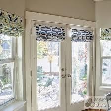 french door window treatment ideas style french door window