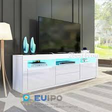 led tv board lowboard hochglanz 160 cm fernsehschrank sideboard wohnzimmer möbel