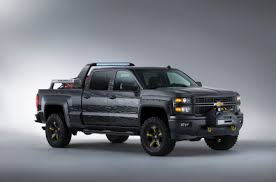 Chevy Silverado Black Ops Concept Is The Perfect Vehicle For The ...