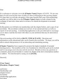 Download Sample Wel e Letter for Free TidyForm