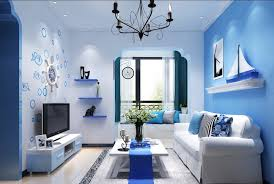 Back To Light Blue Living Room Ideas