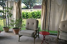 Vinyl Patio Curtains Outdoor by Diy Outdoor Patio Drop Cloth Curtains Canvas Best 25 Drapes Ideas