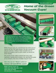 masculine bold flyer design for better vacuum cups inc by