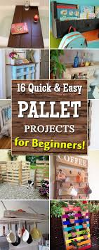 16 Quick And Easy Pallet Projects For Beginners
