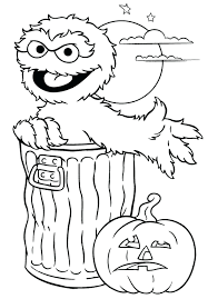 Elmo Coloring Page Pages To Print Letter K Full Size
