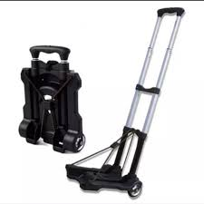 100 Hand Truck Vs Dolly Aluminium Folding Shopping Grocery Foldable Cart Flatbed