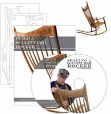 sam maloof rocking chair class rocking chair plan package deal