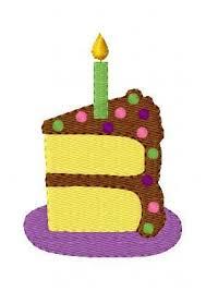 birthday cake slice machine embroidery by joyfulstitchesetsy clipart