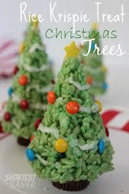 Rice Krispie Christmas Tree Ornaments by Rice Krispie Treat Christmas Trees Everyday Shortcuts