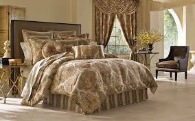 J Queen Brianna Curtains by Bedding Marvelous La Scala Medallion Comforter Bedding By J Queen