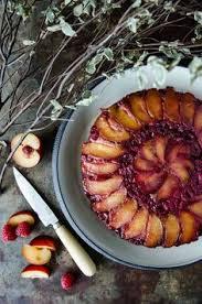 Gluten Free Plum And Raspberry Cake