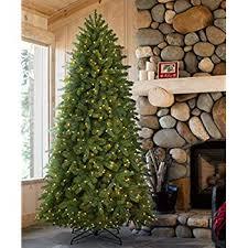 Tree Classics Classic Fraser Fir Artificial Christmas 9 Feet Prelit Clear Lights