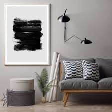 Unframed Abstract Minimalist Print ZEN Buddha Art Canvas Poster Home