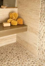Types Of Natural Stone Flooring by Best 25 Natural Stone Bathroom Ideas On Pinterest Rock Shower