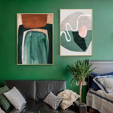 abstrakte geometrische leinwand malerei poster drucke