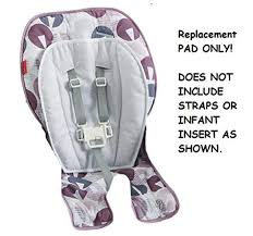 Replacement Pad For Fisher-Price Deluxe SpaceSaver High Chair FPC44 - Ele  Toys, LLC Fisherprice Playtime Bouncer Luv U Zoo Fisher Price Ez Clean High Chair Amazoncom Ez Circles Zoo Cradle Swing Walmart Images Zen Amazonca Baby Activity Flamingo Discontinued By Manufacturer View Mirror On Popscreen N Swings Jumperoo Replacement Pad For Deluxe Spacesaver Fpc44 Ele Toys Llc
