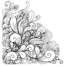 Mandala Coloring Pages Free Online Printable Adults Flower Pictures Full Size