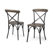 Mercana 50450 Etienne I (Set Of 2) Dining Chair, Brown